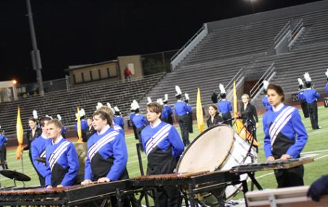 Marching Band at Valley Fest Showdown