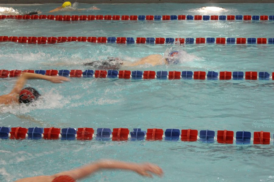 Swimming District Title Streak Ends