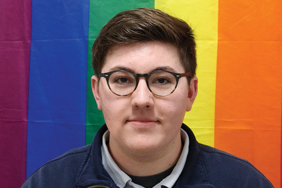 Landon+Santel%2C+%2718%2C+is+trying+to+fight+for+LGBTQ+rights+at+Xavier+High+School+after+having+spent+his+freshmen+and+sophomore+years+there.