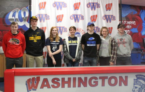 All the Wash Athletes who signed letters of intent